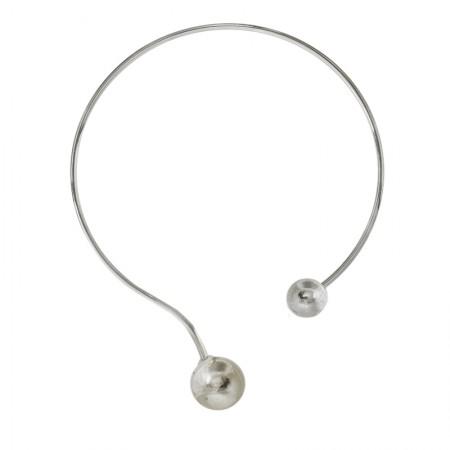 Necklaces -Torque double boules