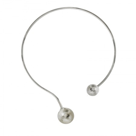 Necklaces -Torque double boules