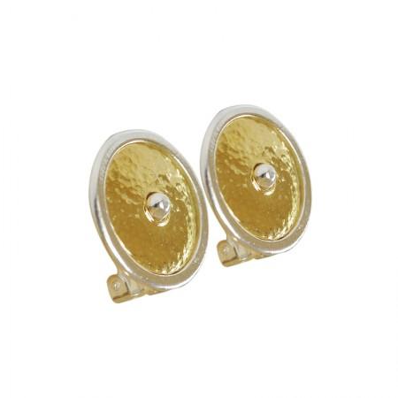 Accueil -Boucles d'oreilles clips bicolore