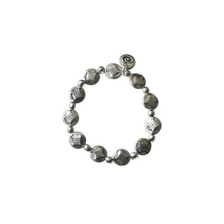 Bracelet métal sur élastique