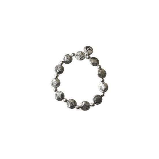 Bracelets élastiques -Bracelet métal sur élastique