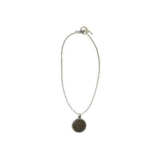 Colliers -Collier chaine corne