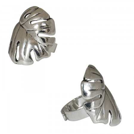 Metal Rings -Bague Feuille
