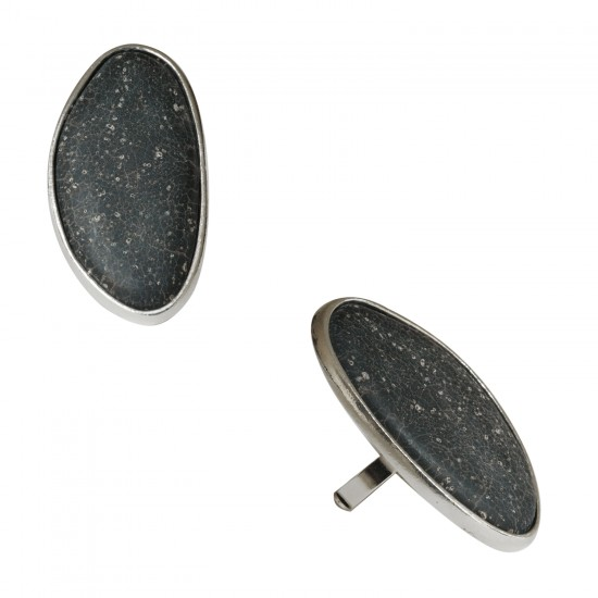 Rings with resin -Bague grand galet
