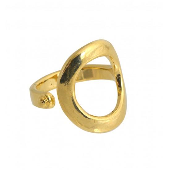Home -Bague dorée