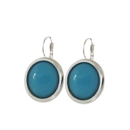 Leverback Earrings Pâte de Verre