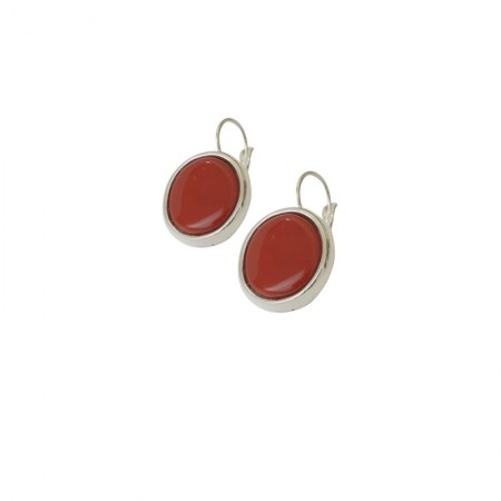 Leverback Earrings Resin
